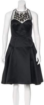 Milly Embellished Cocktail Dress