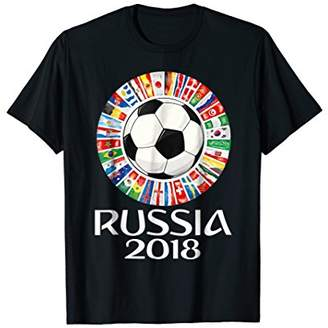 Russia Soccer T-shirt 2018 World Football Cup All Teams 32