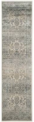 Darby Home Co Persian Garden Ivory/Light Blue/Steel Blue/Almond Brown Area Rug Darby Home Co