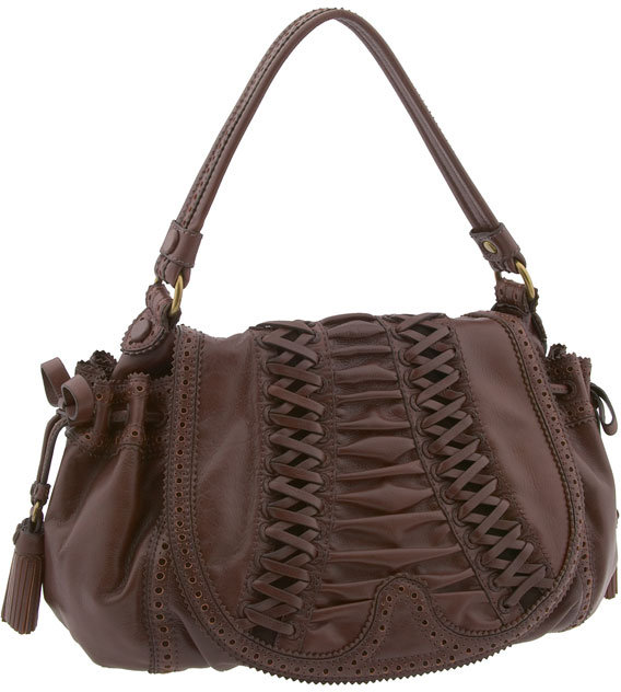 Lockheart 'Tied & True' Corset Flap Drawstring Bag