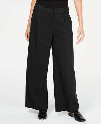 Eileen Fisher TencelTM Pleated Wide-Leg Pants, Regular & Petite