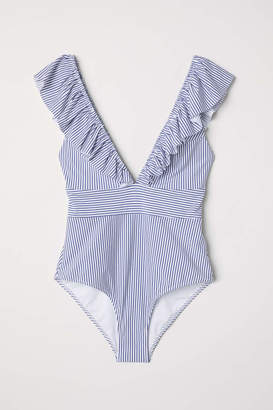 H&M Swimsuit with Flounce