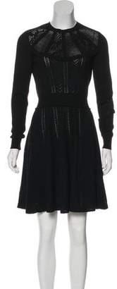 Miu Miu 2016 Knit A-Line Dress