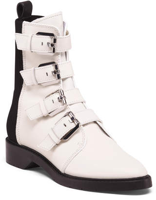 Dolce Vita Leather Moto Boots