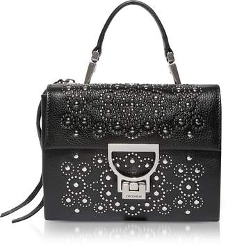 Coccinelle Arlettis Studs Mini Bag w/Shoulder Strap