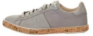 Fabiana Filippi Suede Low-Top Sneakers grey Suede Low-Top Sneakers