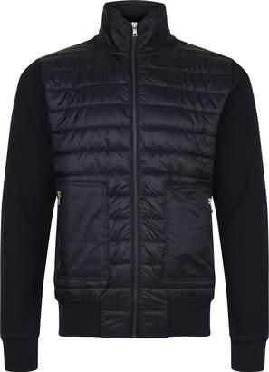Tommy Hilfiger Men's Mixed Media Zip Through Jacket