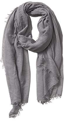 """Blend of America Tickled Pink Classic Soft Solid Stylish Long Lightweight Pashmina-Like Cotton Scarf 38 x 70"""""""