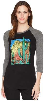 Rock and Roll Cowgirl 3/4 Sleeve Tee 48T5569 Women's T Shirt