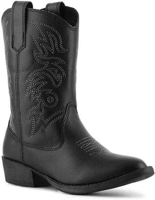 Deer Stags Ranch Toddler & Youth Cowboy Boot - Boy's