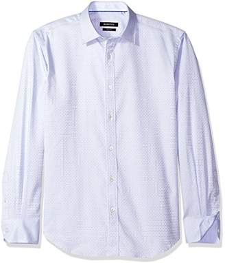 Bugatchi Men's Denis Long Sleeve Tonal Button Down Shirt