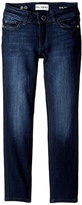 DL1961 Kids Chloe Skinny Jeans in Lima (Big Kids)