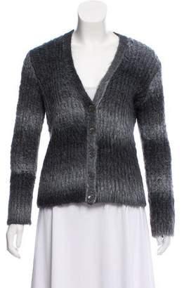 Saint Laurent Long Sleeve Button-Up Cardigan