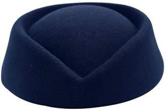 +Hotel by K-bros&Co YueLian Women's Woolen Hotel Stewardess Hat Winter Autumn Solid Headwear