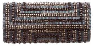 Deepa Gurnani Beaded & Studded Clutch