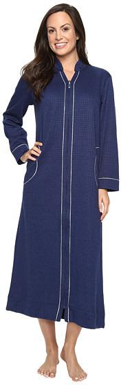 Carole HochmanCarole Hochman Quilted Zip Robe