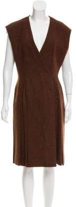 Prada Wool Wrap Dress w/ Tags