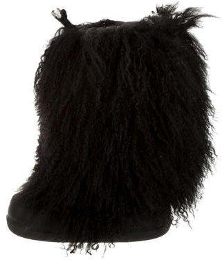 Ralph Lauren Mongolian Fur Boots $280 thestylecure.com
