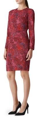 Whistles Abstract Animal Printed Dress