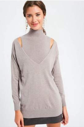 Listicle Two Piece Sweater