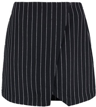 New Look Wrap skirt navy