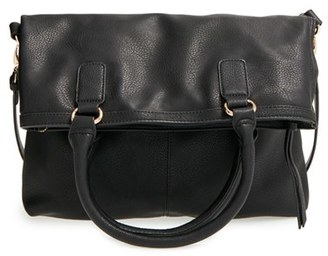 Sole Society Foldover Tote $59.95 thestylecure.com