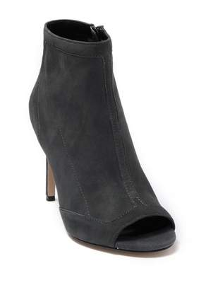 Charles David Courter Suede Open Toe Boot