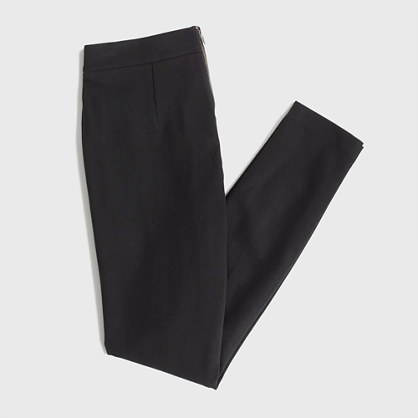 J.Crew Factory Factory leather-panel Gigi pant