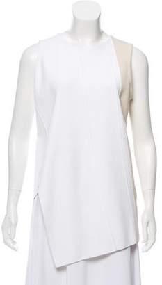 Narciso Rodriguez Sleeveless Asymmetrical Top