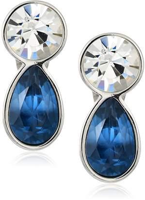 T Tahari Uptown Jewels Women's Btir Mnt Ombre Clip-On Earrings, Color:
