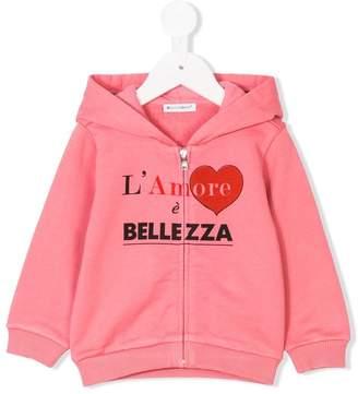 Dolce & Gabbana L'Amore print hoodie