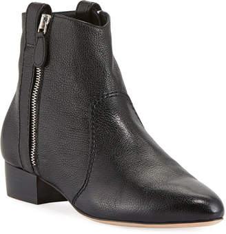Laurence Dacade Soa Grained Kit Leather Booties