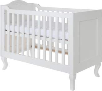 House of Fraser Kidsmill Romance White Brush Cot bed 70 x 140
