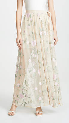 f27093152 Cotton Spandex Maxi Skirt - ShopStyle