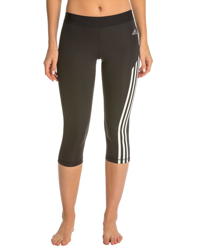 Adidas Women's Techfit 3/4 Tight 3 Stripe - 8133310