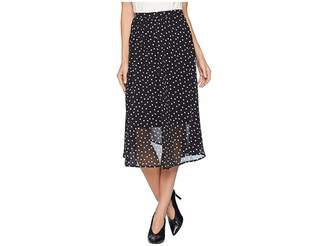 Bobeau B Collection by Diana Midi Length Skirt