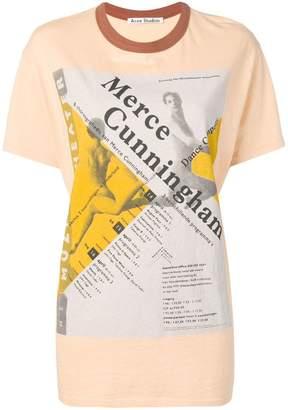 Acne Studios dance printed T-shirt