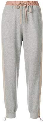 Stella McCartney contrast waistband track pants