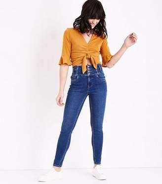 397c050f1314 High Waisted Skinny Jeans New Look - ShopStyle UK