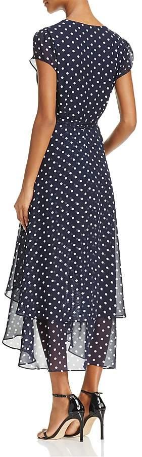 Betsey Johnson Polka Dot Wrap Dress 2