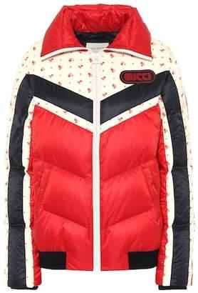 Gucci Printed down jacket