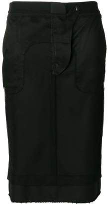 Thom Browne Inside-Out Sack skirt