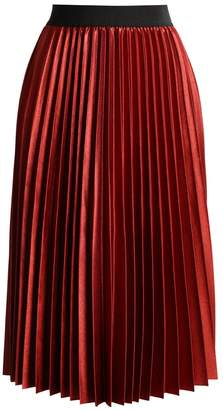 Only ONLANNA Pleated skirt sundried tomato