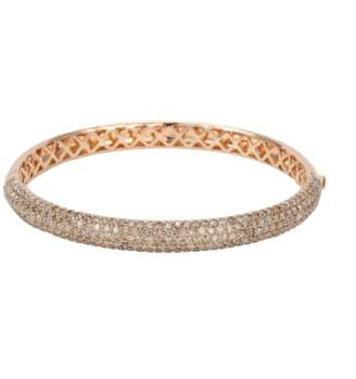 18ct Rose Gold 5.75ct Diamond Bracelet