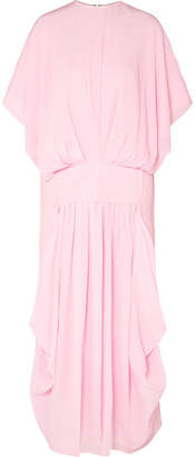 J.W.Anderson Crinkled-silk Midi Dress - Pink