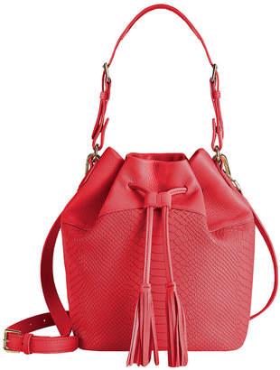 GiGi New York Jenn Leather Bucket Bag