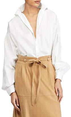 Polo Ralph Lauren Classic Cotton Button-Down Shirt