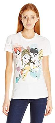 Disney Women's Illustrated Princesses Graphic Tee $19.50 thestylecure.com