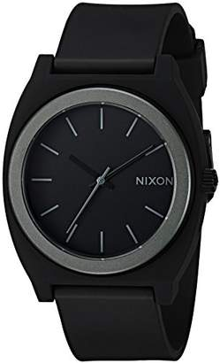 Nixon Men's A1191308-00 Time Teller P Analog Display Japanese Quartz Black Watch