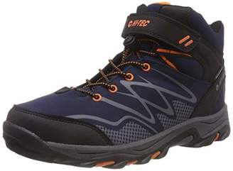 Hi-Tec Unisex Kid's Blackout MID Waterproof Junior High Rise Hiking Boots,(29 EU)